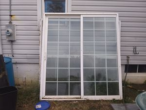 Sliding glass porch doors for Sale in Newark, OH