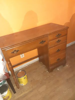 1970s Writing Desk REAL WOOD for Sale in Florissant, MO