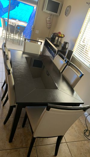 Kitchen Table Set with 6 chairs for Sale in Mission Viejo, CA