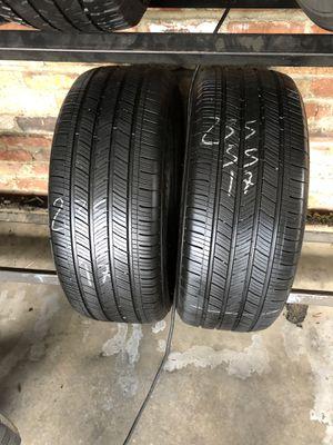 235-55-17 used tires 235/55/17 llantas usadas for Sale in Fontana, CA