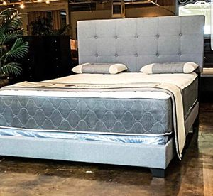BRAND NEW QUEEN SIZE BED AND MATTRESS (FREE DELIVERY) for Sale in Fort Worth, TX