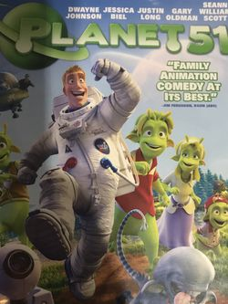 Planet 51 Dvd Movie for Sale in Elma,  WA