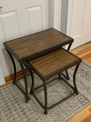 Ashley Furniture Nesting Tables for Sale in Boston, MA