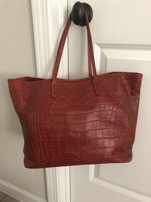 Furla croc leather handbag for Sale in Duluth, GA