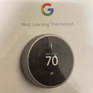 Google Nest Learning Thermostat brand new for Sale in Los Angeles, CA
