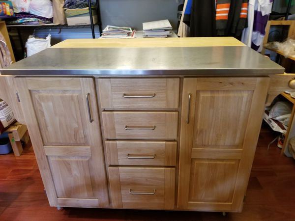 Knich Stainless-steel table top kitchenten
