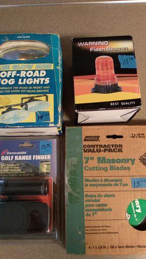 7'' Masonry Cutting Blades, Off-road Fog Lighs,Flash Beacon NEW $15 each for Sale in Gresham, OR