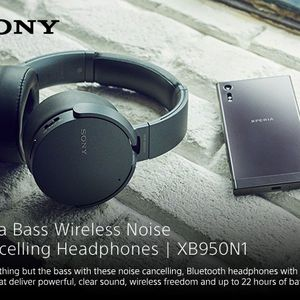 Sony XB950N1 Extra Bass Wireless Noise Canceling Headphones, Black for Sale in San Diego, CA