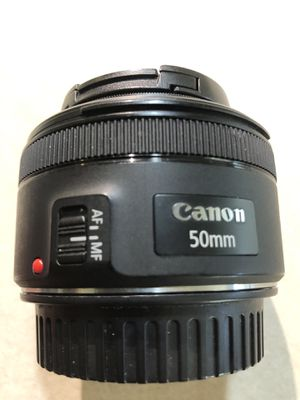 Canon Len 50mm $100.00 for Sale in Dallas, TX