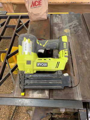 Ryobi Airstrike 18v One+ 18 ga Brad Nailer for Sale in Whitehouse, TX