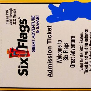 Six Flags Great Adventure Tickets For Sale for Sale in Levittown, NY