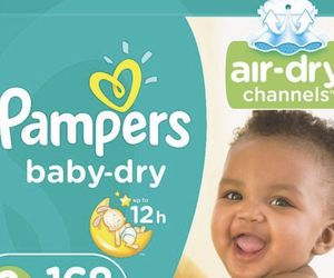 Pampers sizes newborn - 5 for Sale in Fort Lauderdale,  FL