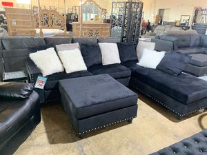 Black sectional for Sale in Dallas, TX