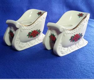 New in box Princess House sleigh candleholders for Sale in Prospect, ME