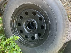 Trailer tires rims 2057515 for Sale in Homestead, FL