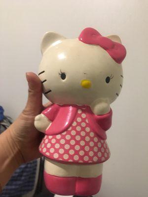 Hello kitty piggy bank for Sale in Pomona, CA