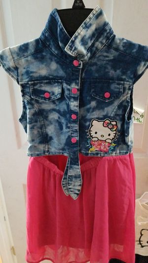 Hello kitty dress size 6x for Sale in undefined