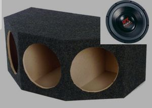 "Three 12"" MTX Subwoofers and Box!! for Sale in Reading, PA"