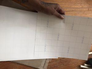 4 sheets of inkjet printer sublimation paper for Sale in Baton Rouge, LA