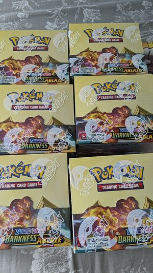 Pokemon Darkness Ablaze Booster Box 6 Available for Sale in Fullerton, CA