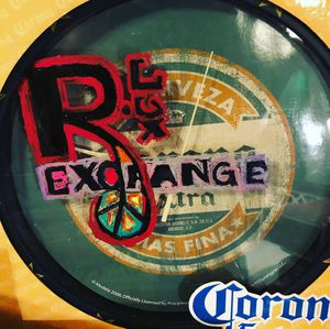 R.Lux Exchange Corona Hand painter wall clock for Sale in Silver Spring, MD