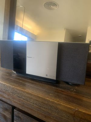 Panasonic stereo system with I pod dock. $50 for Sale in Bakersfield, CA