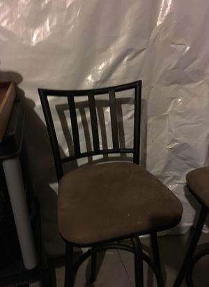 2 bar stool chairs for Sale in Mars, PA
