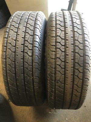 2 tires for trailer st 215/75 /14 for Sale in Aurora, IL