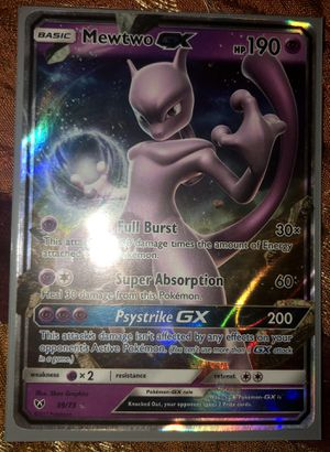 Mewtwo GX Pokemon Card for Sale in Taylors, SC