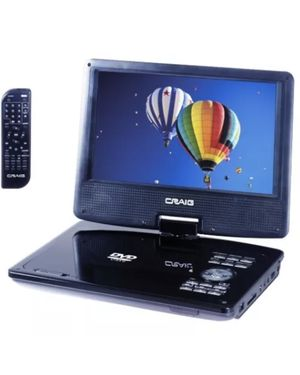 "Craig 9"" TFT Swivel Screen Portable DVD/CD Player for Sale in Cedar Park, TX"