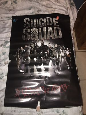 Suicide squad posters $4 for all for Sale in Avon Park, FL