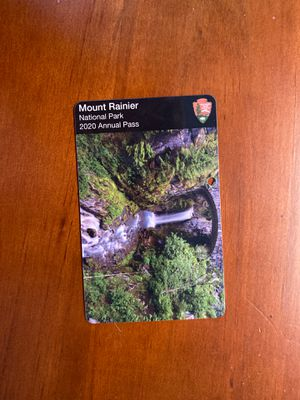 Mount rainier annual pass for Sale in Bellevue, WA