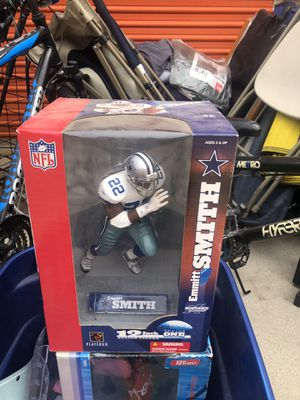 Original Emmitt smith action figure. Give me a price! for Sale in Corona, CA