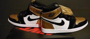 Air Jordan 1 Retro High NRG Patent Gold Toe Men Size 10 for Sale in Sugar Creek, MO