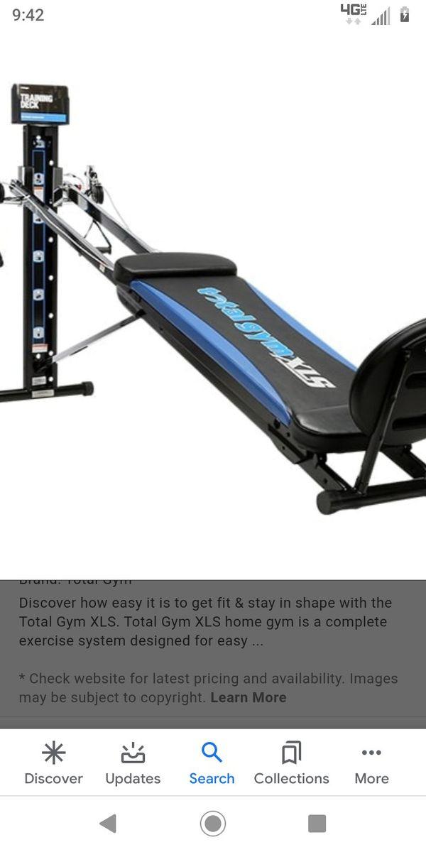 Total gym XLS brand new