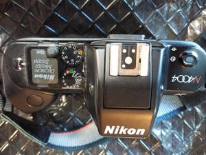 Nikon n4004 decision Master system needs battery door no lense for Sale in Temple, GA