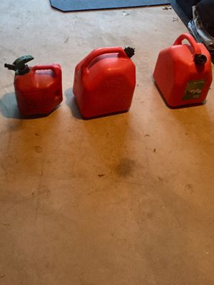 Gas Cans for Sale in Ashburn, VA