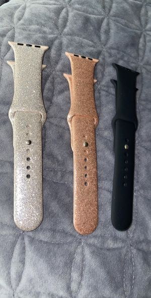 Apple bands 42/44 mm $20 for all 3 for Sale in Fresno, CA