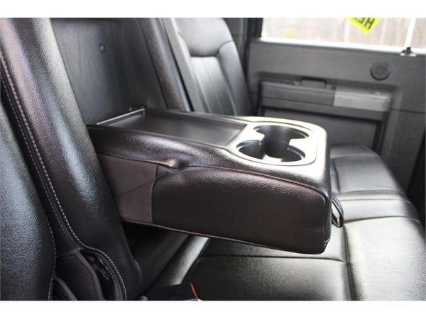 2012 Ford Super Duty F-450 DRW 4WD CREW CAB LARIAT POWERSTROKE DIESEL LOADED !!