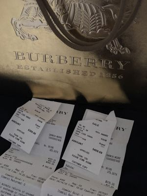Burberry with receipt (Shirt & Belt) for Sale in Nashville, TN