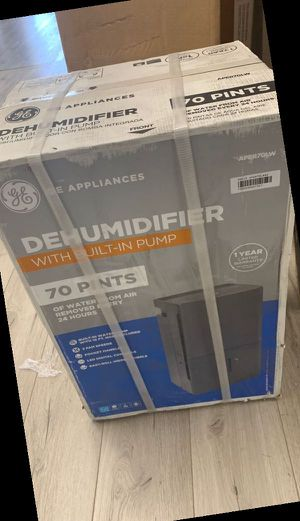 Open box GE Dehumidifier LU for Sale in Dallas, TX