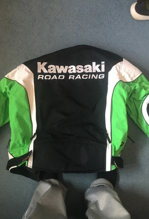 Kawasaki motorcycle jacket for Sale in Wilmington, DE