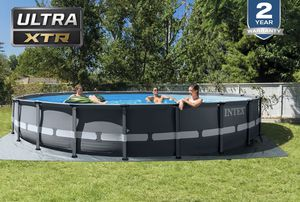 BRAND NEW ULTRA 20 FT INTEX POOL FRAME WITH SAND FILTER PUMP for Sale in Houston, TX