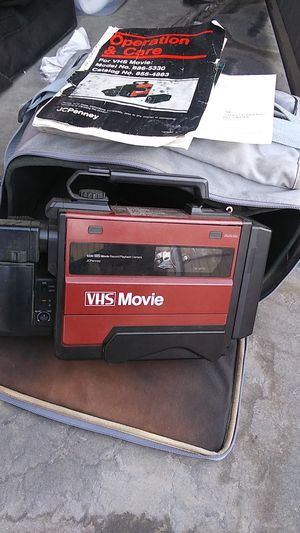 VHS video recorder camera for Sale in Fresno, CA