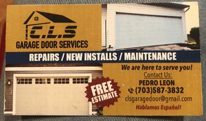 Garage Doors services. for Sale in Centreville, VA
