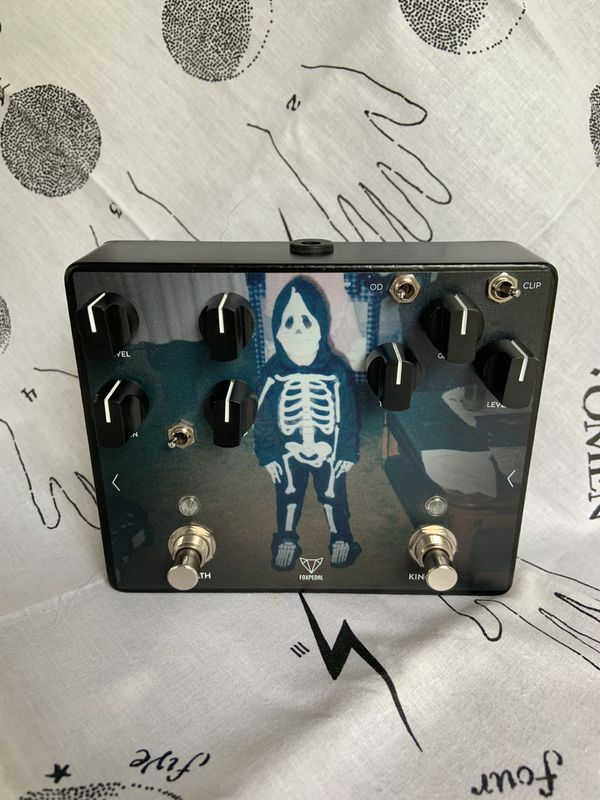 Fuzz overdrive distortion guitar pedal