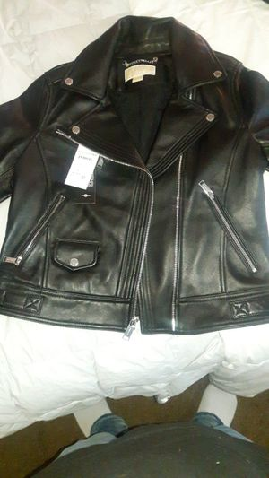 Michael Kors leather jacket for Sale in Fremont, CA