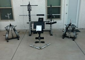 Gold gym weights for Sale in Phoenix, AZ