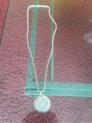 Bracelet aztec calendar silver for Sale in San Leandro, CA
