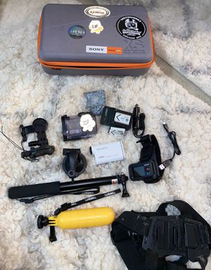 Sony Action Cam 4K FDR-X1000VR for Sale in Bedford Park, IL